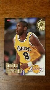 Rookie cards, autographs and more. 1996-97 Kobe Bryant NBA Hoops rookie card #281   eBay