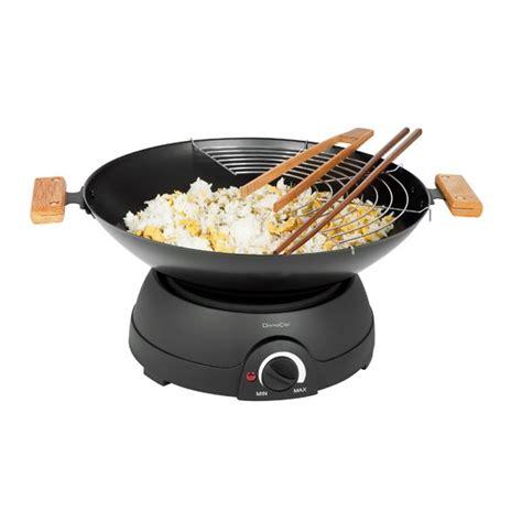 appareil cuisine conviviale set wok et fondue électrique raclettes fondues et