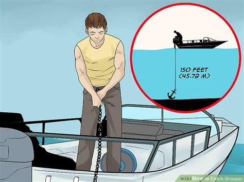 grouper catch wikihow fishing bottom