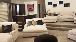 Plush home chelsea double chaise lounge for Plush sectional sofa with chaise