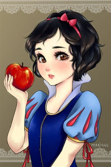 disney princesses       anime characters