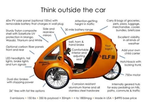 Most Efficient Electric Vehicle by Order An Solar Electric Pedal Trike The Most