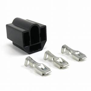 Headlight Socket Connector With Prongs