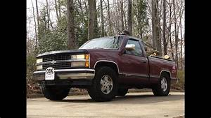 93 Chevy Silverado Z71 Off Road 4 X 4 Short Bed   Running