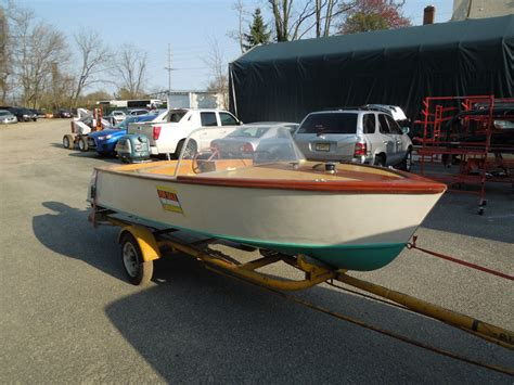 Chris Craft Wooden Boats For Sale By Owner by Chris Craft Wooden Boat Barracuda Antique 1955 For Sale