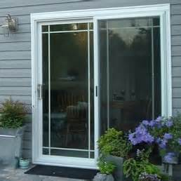 sliding glass door with grids and standard 4 point