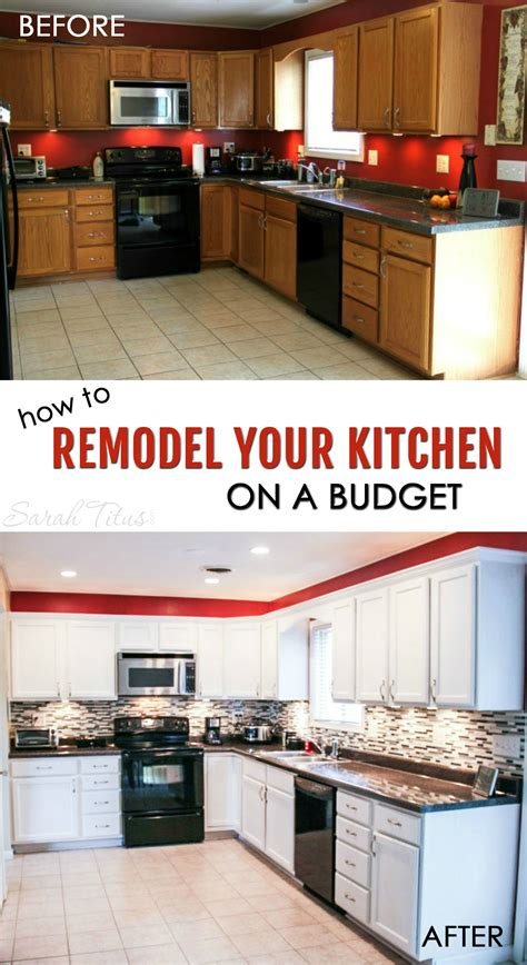 inexpensive kitchen remodel ideas how to remodel your kitchen on a budget titus