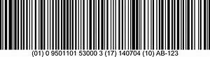 One-dimensional (1D) barcodes - Barcodes | GS1
