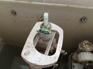 Push Button Toilet Flusher Broken