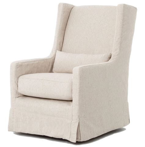 swivel chair slipcover wilshire modern slipcover linen swivel arm chair