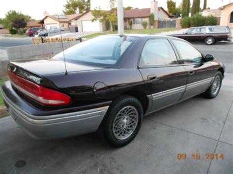 Buy Used 1993 Chrysler Concorde, Low Miles, 1 Owner In
