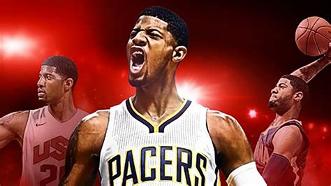 Paul George On Cover of NBA 2K17 - YouTube