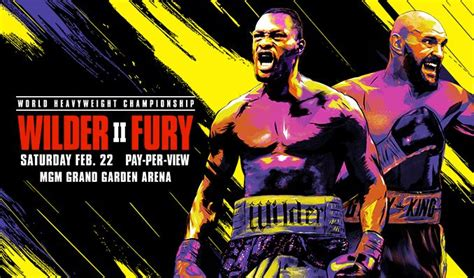 Tyson Fury v. Deontay Wilder II.... a Preview – Five ...