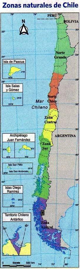 Caminando por Chile: Zonas naturales de Chile