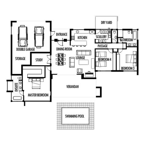 Bathroom Floor Plans India by Small Single Bedroom House Plans Indian Style Home