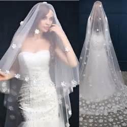 voile de mariage voile de mariée voile mariage voile mariée voile veil de cérémonie avec des fleurs blanc blanc