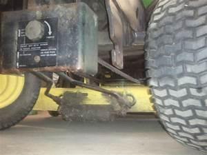 John Deere 318 Mule Drive Hook Up Help Needed