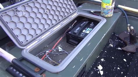 Boat Tackle Storage Hatches by How To Install Hatch Doors On Jon Boat Oow Outdoors