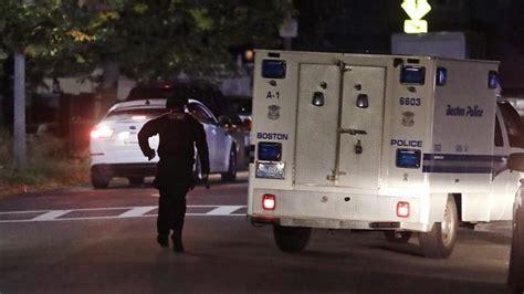 boston massachusetts  police officers shot  critically