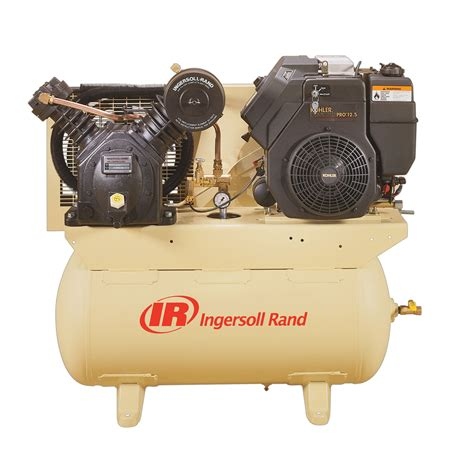 ingersoll rand 30 gallon air compressor horizontal tank