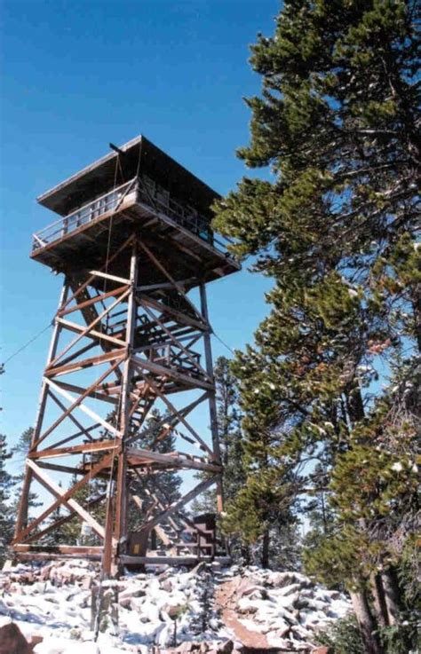 Facility Details - SPRUCE MTN FIRE LOOKOUT TOWER, WY ...