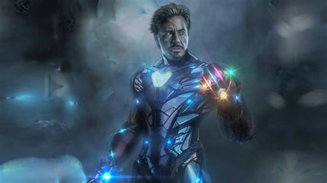 tony stark    infinity gauntlet avengers