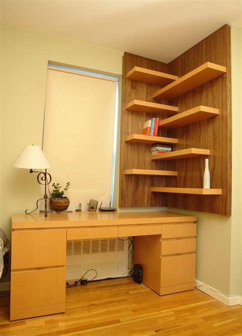 modern corner shelf clever ways in which a corner bookshelf can fill in the