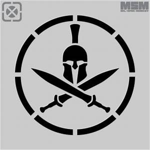 Spartan helmet stencil sports logos pinterest for Spartan mask template
