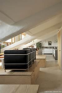 Appartement Sous Comble : am nagement appartement lyon 5eme fabien perret architecte lyon ~ Dallasstarsshop.com Idées de Décoration