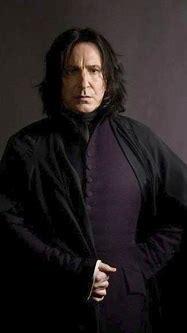 Hogwarts Professors: Alan Rickman as Severus Snape ...