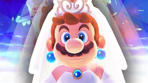 Mario In A Wedding Dress!!! (super Mario Odyssey) Youtube