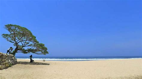 liburan  gunung kidul nikmati eksotisme pantai pok tunggal