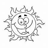 Sun Coloring Sunrise Sunlight Laughing Printable Printables Drawings Getcolorings Momjunction 38kb 230px sketch template