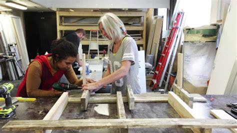 fabrication dun banc  partir de palette  nest pas