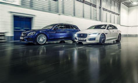 2016's top leasing deals: Mercedes C class or Jaguar XE