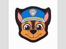 Paw Patrol Chase Shaped Rug Bedroom
