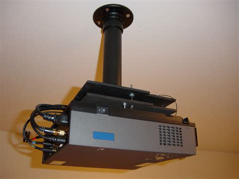 diy projector mount avs forum home theater