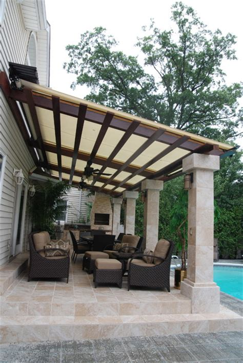 style house canap retractable canopy system by breslow home design
