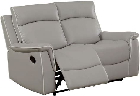 Light Grey Loveseat by Salome Light Gray Recliner Loveseat Cm6798 Lv Furniture