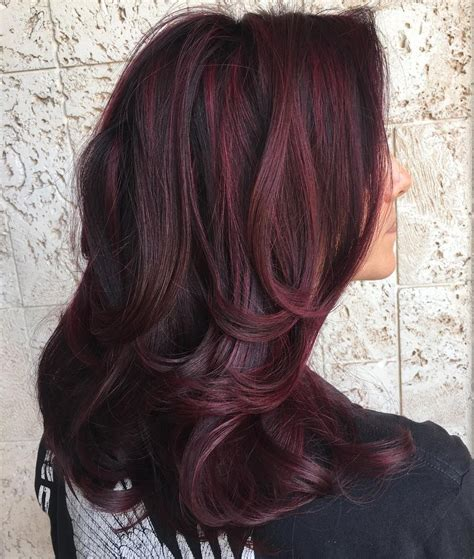 40 Shades Of Burgundy Hair Dark Burgundy Maroon