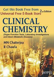 Clinical Chemistry  2nd Edition Pdf Ebook Free Download