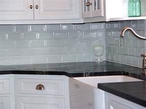 glass backsplash in kitchen decoration coloured subway tile for kitchen backsplashes inpiration in modern home interior