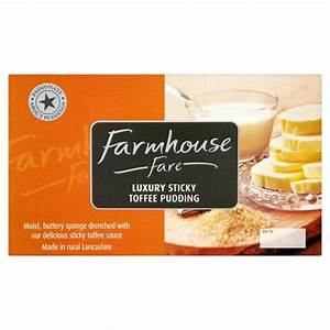 Farmhouse Fare Sticky Toffee Pudding From Ocado