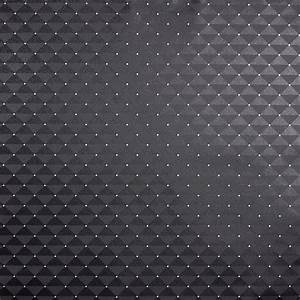 caselio 39love39 tapete capiton schwarz silber bei With markise balkon mit schwarz silber tapete