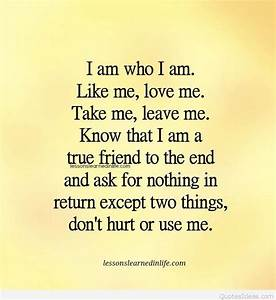 who I am quotes
