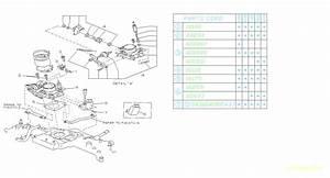 1988 Subaru Dl  Gl  Gl10  Rs  Rx Sensor Assembly