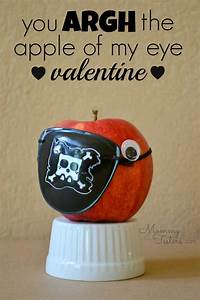 Pirate Valentine Treat with Healthy Apples ~ These pirate ...