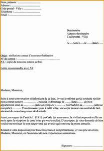 Lettre De Changement D Adresse : modele lettre resiliation assurance habitation cause demenagement ~ Gottalentnigeria.com Avis de Voitures