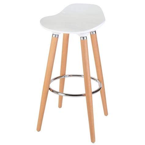 tabouret de cuisine en bois tabouret de bar blanc bois cuisine en image