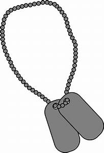 Military Dog Tags Clip Art - Military Dog Tags Image